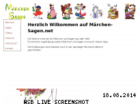 Ranking Webseite maerchen-sagen.net