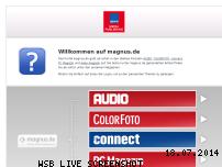 Informationen zur Webseite magnus.de