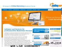Informationen zur Webseite mailingwork.de