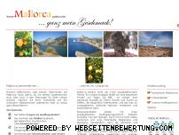 Ranking Webseite mallorcagusto.com