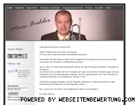 Informationen zur Webseite marcbuehler.de