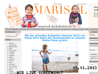 Ranking Webseite marisol-kidsfashion.de