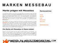 Ranking Webseite marken-messebau.de
