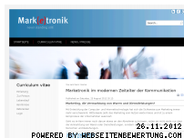 Ranking Webseite marketronik.de