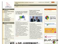 Ranking Webseite masgf.brandenburg.de