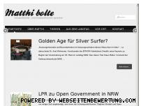 Ranking Webseite matthi-bolte.de