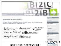 Ranking Webseite maxx-store24.de