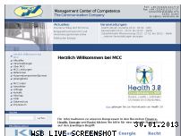 Ranking Webseite mcc-seminare.de
