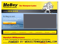 Ranking Webseite mebey.de
