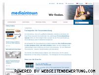 Ranking Webseite mediaintown.de