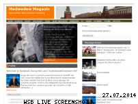 Informationen zur Webseite medwedew.de
