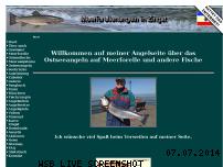 Informationen zur Webseite meerforelle-mv.de