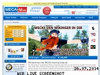 Informationen zur Webseite mega-merchandise.de