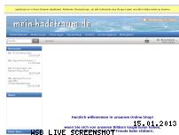 Ranking Webseite mein-badetraum.de