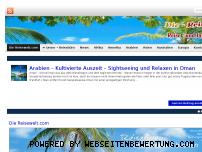 Ranking Webseite mein-reisemagazin.com