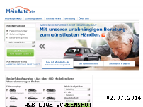 Ranking Webseite meinauto.de