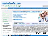 Informationen zur Webseite meinetarife.com