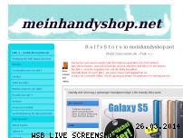 Informationen zur Webseite meinhandyshop.net