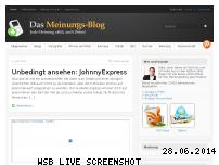 Ranking Webseite meinungs-blog.de
