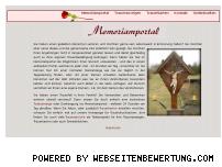 Ranking Webseite memoriamportal.de