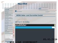 Ranking Webseite mera.de