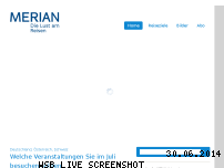 Ranking Webseite merian.de