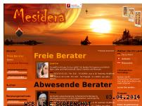 Informationen zur Webseite mesidera.de