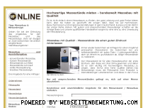 Informationen zur Webseite messepartner-online.com