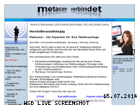 Ranking Webseite metacom-ag.de