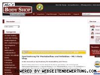 Ranking Webseite micsbodyshop.de