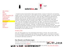 Ranking Webseite milchlos.de