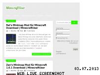 Ranking Webseite minecraftuser.tk