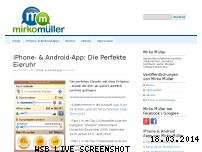 Ranking Webseite mirko.de