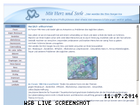 Informationen zur Webseite mit-herz-und-seele.net
