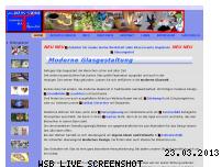 Informationen zur Webseite moglas.de