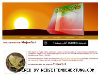 Ranking Webseite mojannet.com