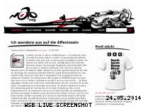 Ranking Webseite mojomag.de