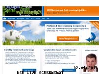 Ranking Webseite moneytip24.com