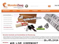 Informationen zur Webseite monsterzeug.de