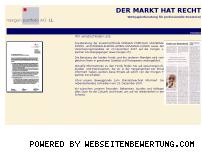Ranking Webseite morgen.de