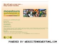 Ranking Webseite mosstours.com