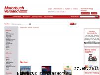 Ranking Webseite motorbuch-versand.de