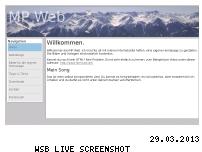 Ranking Webseite mp-web.de.vc