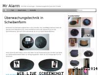 Ranking Webseite mr-alarm.de