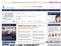 Ranking Webseite mrlodge.de
