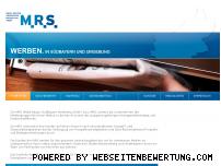 Ranking Webseite mrs-muenchen.de