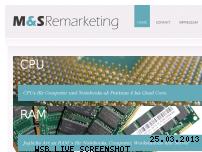 Ranking Webseite ms-remarketing.de