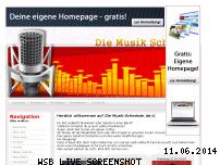 Ranking Webseite musik-schmiede.de.tl