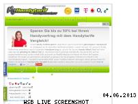 Informationen zur Webseite my-handytarif.de