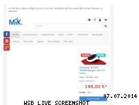 Ranking Webseite my-mik.de